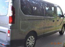 Transpot Międzynarodowy busem marki Renault